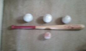baseball bat/balls