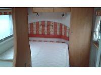 4 berth Fixed bed caravan. Bailey Senator 2004 model