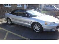 Left Hand Drive Chrysler Sebring LX 2002