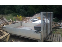 Tipper body (aluminium)10ft and Ram