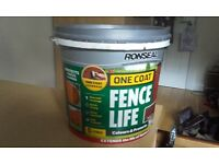 Ronseal fence life medium oak 5l