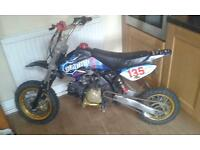 Stomp 3 pitbike with loads of extras ready for collection