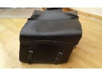 LARGE LEATHER PANNIERS FOR SALE