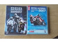 2 x British Superbike DVD's 4 Disc's