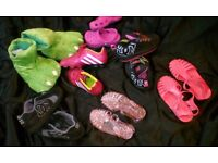 Childrens trainers, shoes and football boots