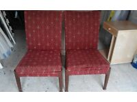 1950s Parker Knoll - 2 x living room chairs