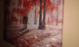 40'' x 27'' - oil painting canvas
