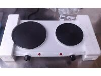 "NEW !!! PORTABLE DOUBLE HOT PLATE ""HADEN "" BARGAIN !!! ONLY COLLECT !!!"