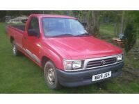 wanted toyota hilux pickup, any age and condition, diesel 4x4