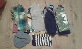 Bundle of boys clothes