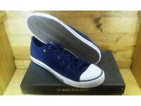 Dunlop, Suede Canvas Trainers, New