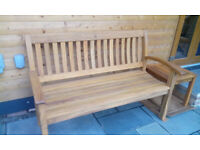 Solid Wood Garden Bench , just like Teak