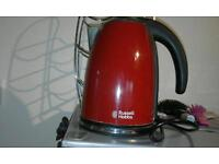 Russell hobs red kettle