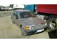 Mercedes 190 Diesel 2.0 , 4 cylinder LHD left hand drive Orginal very good conditions