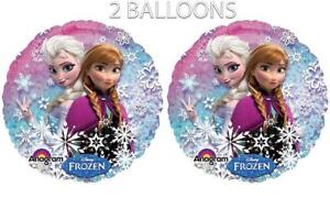 "Disney's Frozen Standard Holographic Balloons 18"" (2 Balloons)"