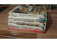 Nintendo Wii games. 5 Great games. Mario Strikes, Tennis, Bros, Olypic games, Guilty Gear