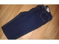 Ladies H&M blue denim jeans