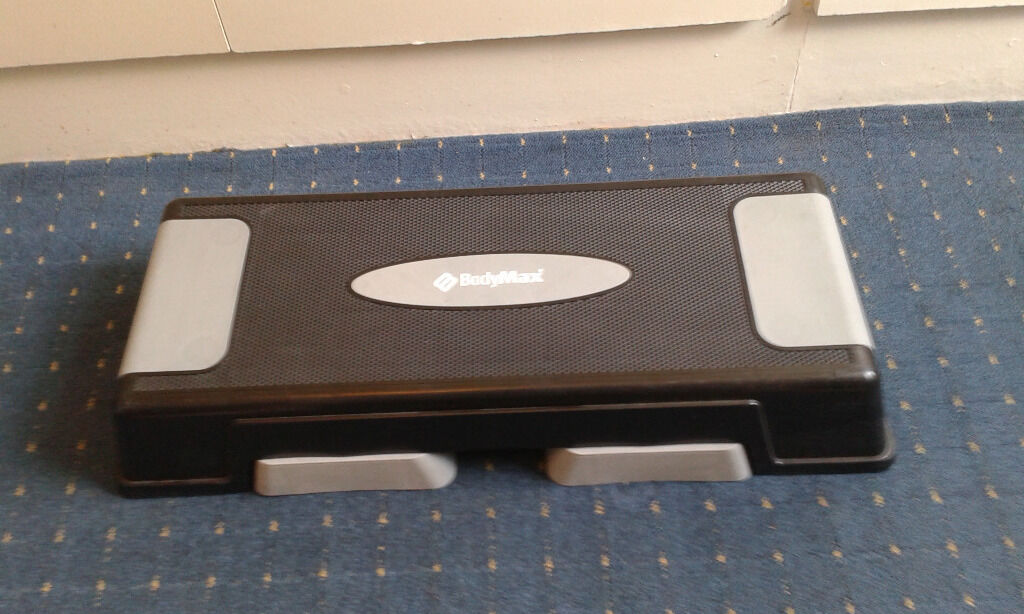 Fitness steepin Haringey, LondonGumtree - A Grey & Black bodymax Step for sale with non slip step and base. Length 90 cms approx Width 35 cms approx Heigh 18 cms approx