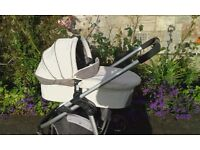iCANDY CHERRY PRAM/BUGGY IN CREAM