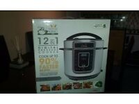 KING PRO 5L PRESSURE COOKER 12 IN 1