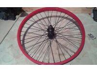 20 inch mafia front bmx wheel (mafia wtp fitbikeco)