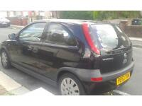 black corsa nice little car ideal for someone just passed their test
