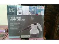Easy home hand held steam cleaner brand new