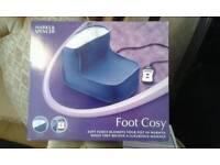 Foot cosy.