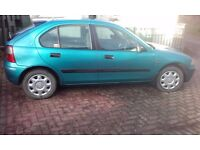 1999 ROVER 216 55,860 GENUINE MILES, SOME WEAR & TEAR