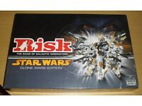 RISK, STAR WARS, CLONE WARS, THE GAME OF GALACTIC DOMINATION