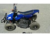 Mini moto quad bike good runner, little use