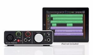 Interface Ipad pour l'audio Itrack solo MKII Focusrite Interface audio USB pour IPAD