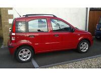 Fiat Panda Red