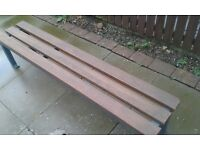 Garden benches reclaimed a restored benches for sale