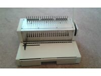 comb binder plus selection of combs