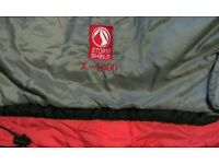 Sleeping bag . Storm Shield X-1500