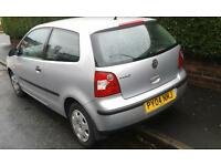 wanted car or van with mot, can swap for 2004 vw polo
