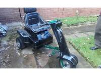 Single seater golf buggy easy rider