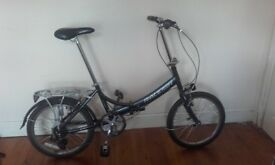 City Folding Bike RALEIGH EVO 7SP - 7 SPEED GEARS