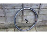 Campagnolo Zonda front road bike wheel 700c VGC S&R