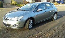 Low millage one owner 2012 Vauxhall Astra 1.4i 16V Active 5dr