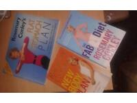 set of diet books in excellent condition