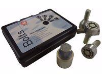 Vauxhall Locking Wheel Bolt Set Alloy Wheels Genuine Key/Nuts