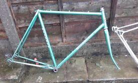 woodrup road bike frame reynolds 531 700c / 27 inch race tourer audax club