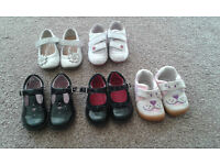 Girls Clarks and Next shoes size 5 and 5.5