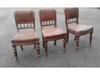 For sale 3 Vintage Chairs