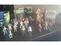 Star Wars figures & vehicle joblot
