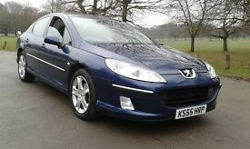 2006 VERY LOW MILEAGE PEUGEOT 407 SE HDI 12 MONTHS MOT
