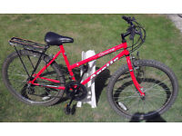 Apollo ladies mountain bike - rear pannier rack/carrier