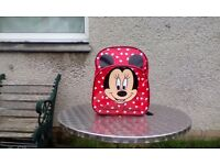 Red Mini Mouse Backpack